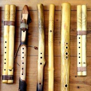 Flétny, koncovky, píšťaly